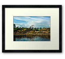 Meldon Reservoir Framed Print