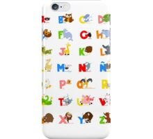 ABC (spanish) iPhone Case/Skin