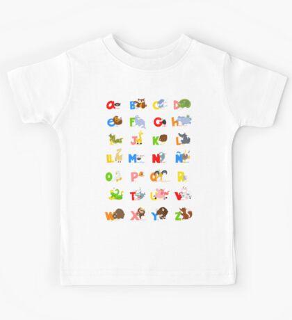 ABC (spanish) Kids Tee
