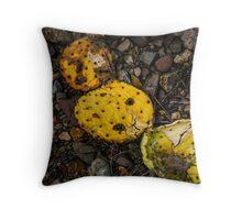 Dried Cactus Throw Pillow
