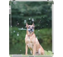 Dog and Bubbles iPad Case/Skin