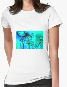 Butterfly on verbena in blue T-Shirt