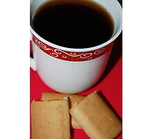 Coffee And Cookies Too Photographic Print