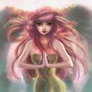 Pink Haired Fairy Woman by SaradaBoru