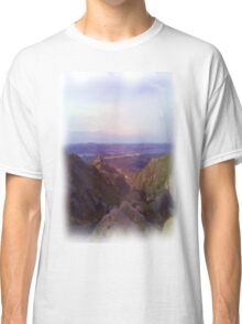 Nature and mountain oil paint Classic T-Shirt