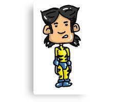 Wolvie Wolverine Canvas Print