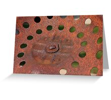 Rust Greeting Card