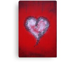 valentine doodle Canvas Print