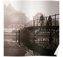 Bridge Through The Mist Poster