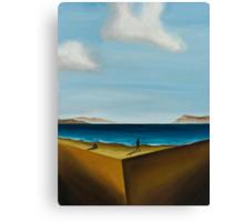 the edge vol.1 16x20 oil on canvas Canvas Print