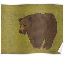 Storybook Bear Poster