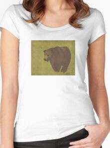 Storybook Bear Women's Fitted Scoop T-Shirt