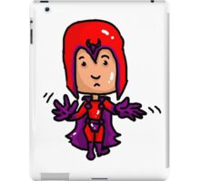 Magneto Erik Cartoon iPad Case/Skin