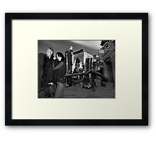 Surreal love Framed Print