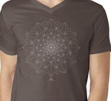 Dove [white design] Mens V-Neck T-Shirt