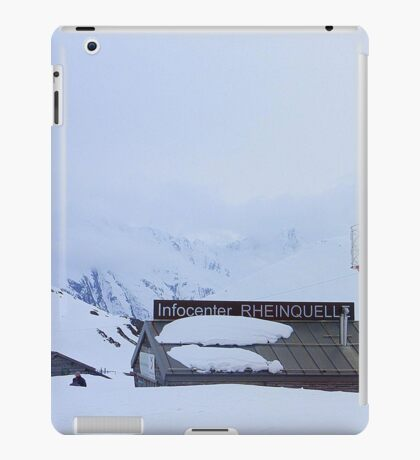 Oberalp Pass.  iPad Case/Skin