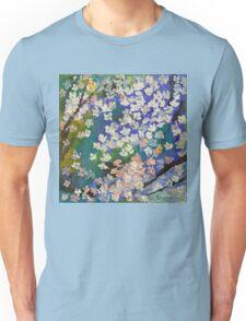 Sakura Oil Painting Unisex T-Shirt