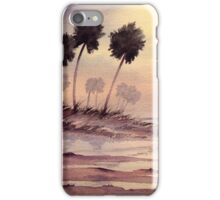 Sunset Beach Tarpon Springs Florida iPhone Case/Skin