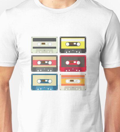 color audio tape Unisex T-Shirt