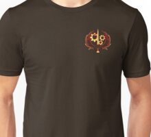 Ministry of Wartime Technology RELOADED (Chest Wireframe) Unisex T-Shirt