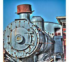 Engine 123 Photographic Print