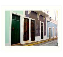Old San Juan, Puerto Rico Art Print