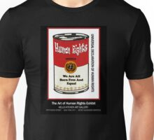 HUMAN RIGHTS POP ART – UNIVERSAL DECLARATION OF HUMAN RIGHTS – ARTICLE 1 Unisex T-Shirt