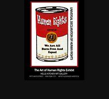 HUMAN RIGHTS POP ART – UNIVERSAL DECLARATION OF HUMAN RIGHTS – ARTICLE 1 Unisex T-Shirt