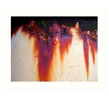Tears of Rust Art Print