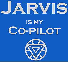 Jarvis is my Co-pilot Photographic Print