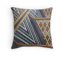 Viennese tiled rooftop Throw Pillow