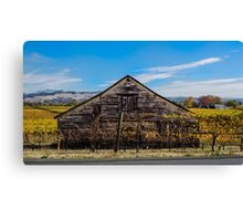Old House in the Russian River Valley Canvas Print