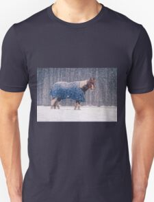 Equine Snowstorm Two T-Shirt