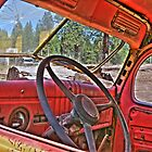 1940s dodge logtruck by pdsfotoart