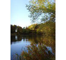 Autumn Afternoon ~ Green Lagoon, Hertfordshire 2009 Photographic Print