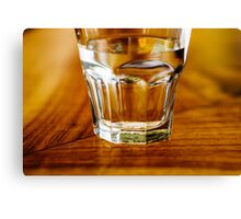Have a glass of water Canvas Print