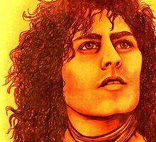 Marc Bolan celebrity portrait (3) 113 views by Margaret Sanderson