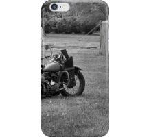 World War 2 Harley Davidson Motorcycle iPhone Case/Skin