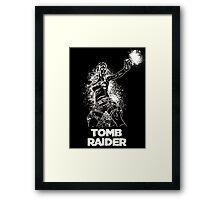 Lara Croft Tomb Raider Framed Print