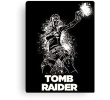 Lara Croft Tomb Raider Canvas Print