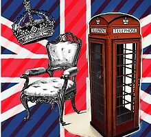 modern jubilee telephone booth london UK fashion by lfang77
