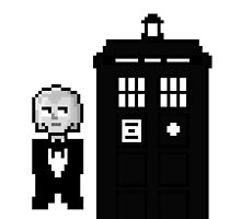First Doctor Pixel Art by whatismyname