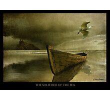 The Solitude of the Sea 3 Photographic Print