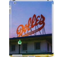 Dolles Sign at the Boardwalk iPad Case/Skin