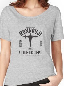 Honnouji Athletics (Black) Women's Relaxed Fit T-Shirt
