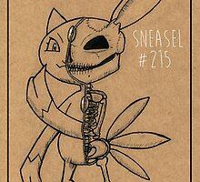 Sneasel's Inner Workings: Pokemon Anatomy by DanGadwah