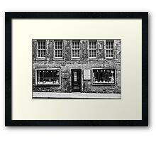 Mair Wee WIndaes Framed Print