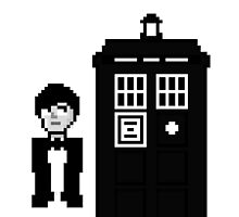 Second Doctor Pixel Art by whatismyname
