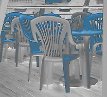 Chairs on Deck. by Clive Lewis-Hopkins.