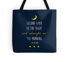 Peter Pan (Version Two) Tote Bag